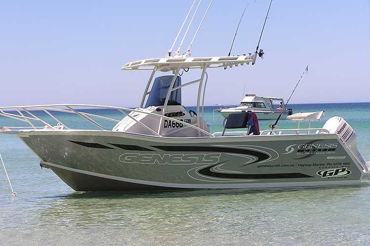 Genesis Craft Aluminium Boats Perth